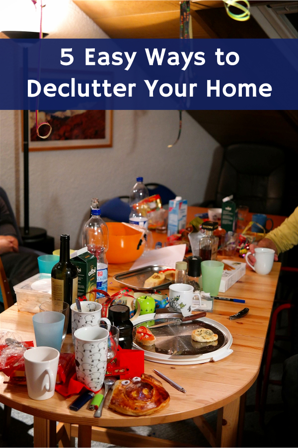 Clutter can be a real thief of joy. Learn some easy ways to declutter your home and life, get organized, and gain your space back.