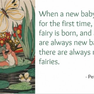 Peter Pan Baby Laugh Fairy Quote