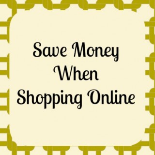 Save Money when Shopping Online