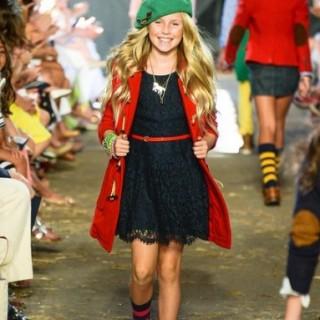 Ralph Lairen Girls Fashion Show Fall 2013