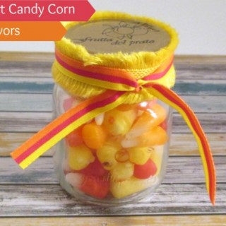 DIY Starburst Candy Corn Party Favors