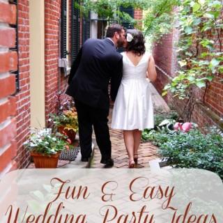 Wedding Party Ideas #targetwedding
