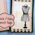 Quick and Easy French Tags