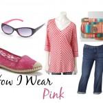 How I Wear Pink with Kohls #sponsored