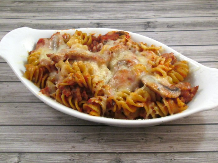 Easy 30 minute baked pasta recipe