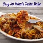 Easy 30 Minute Pasta Bake Recipe