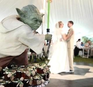 Star Wars Wedding idea
