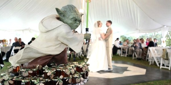 Star Wars Wedding idea