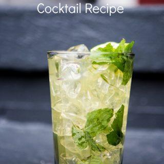 Pineapple mojito drink recipe
