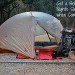 How to Sleep Better when Camping