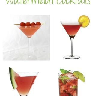 Refreshing Watermelon Cocktails