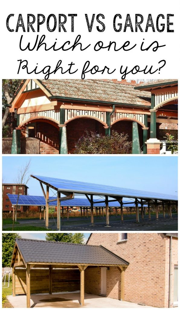 Carport versus Garage - which one is right for your lifestyle?