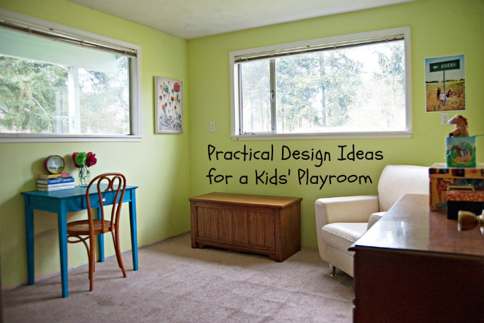 Practical Design Ideas for a Kids Playroom |