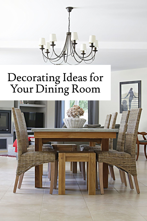 Decorating and design ideas for your dining room