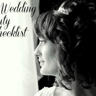 Pre Wedding Beauty Checklist