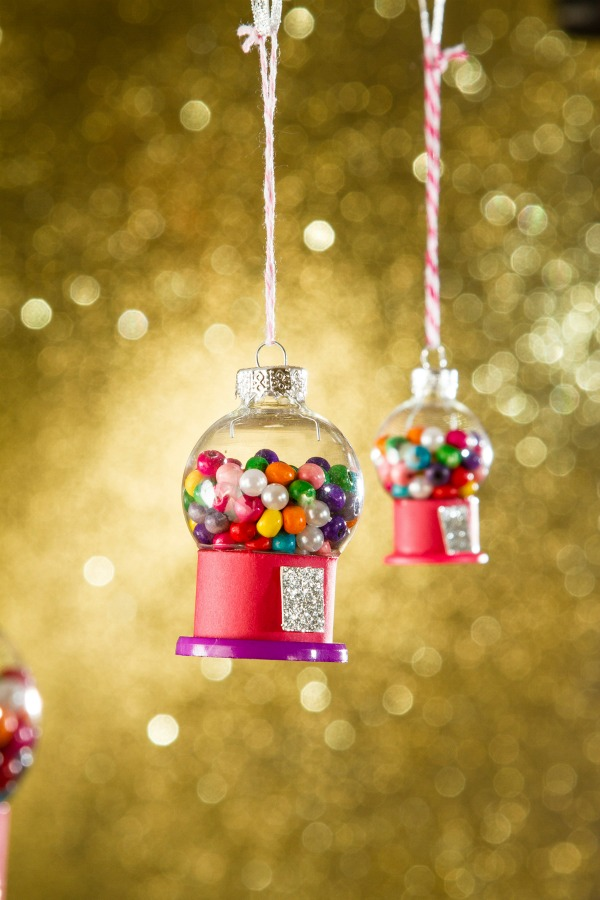 Gumball Machine Christmas Ornament