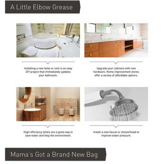 Tips for Bathroom Makeovers on a Budget| An Infographic