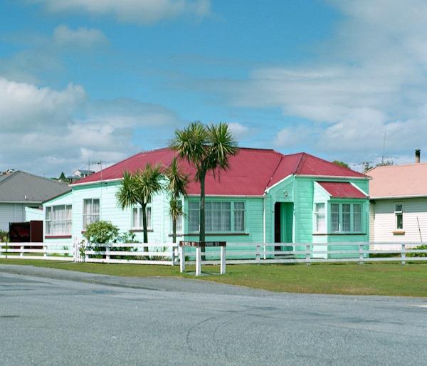 green-resort-house
