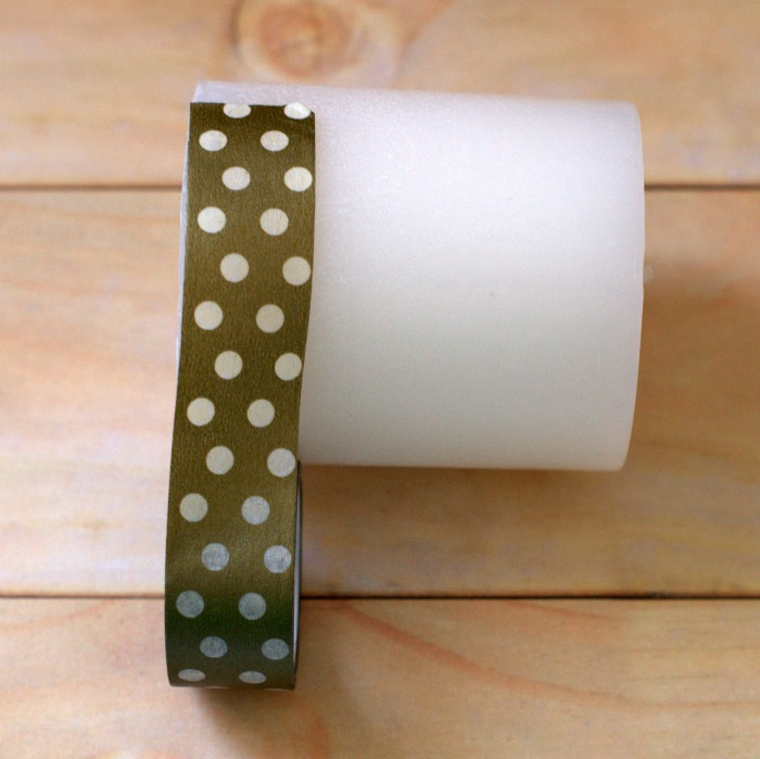 washi-tape-candle-step-1