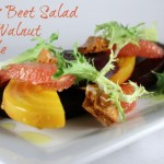 Citrus Beet Salad with Walnut Brittle