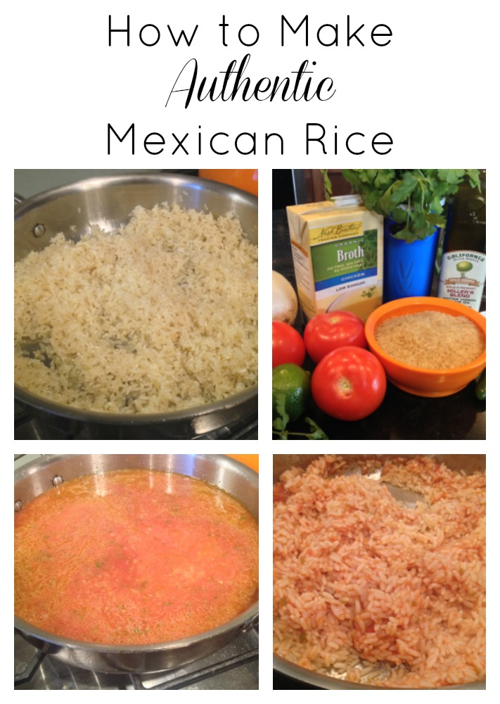 authentic-mexican-rice-collage