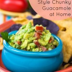 Make Restaurant Quality Chunky Guacamole at Home