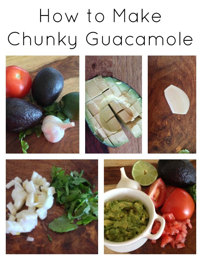 how-to-make-chunky-guacamole