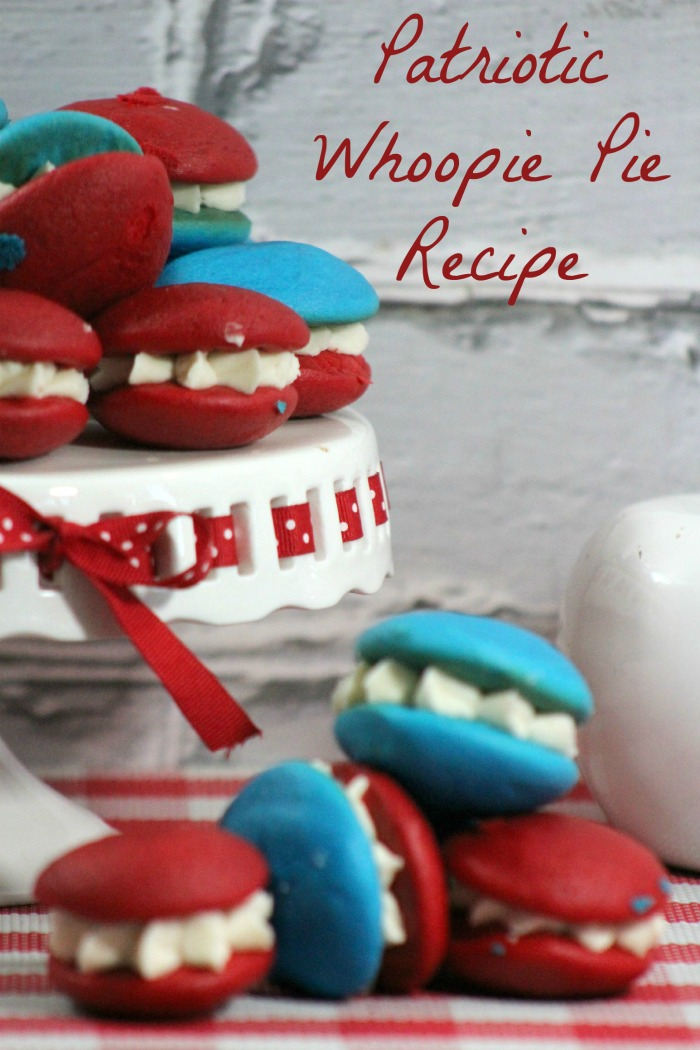 How to Make Patriotic Whoopie Pies from Scratch