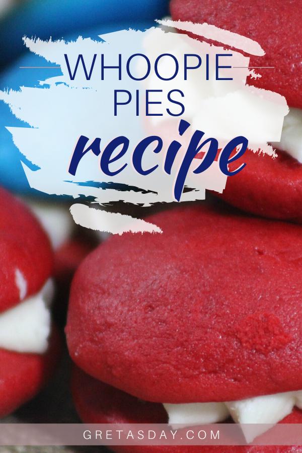 Delicious Patriotic Whoopie Pies Recipe