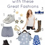 Rock These Star Studded Fashions This Summer