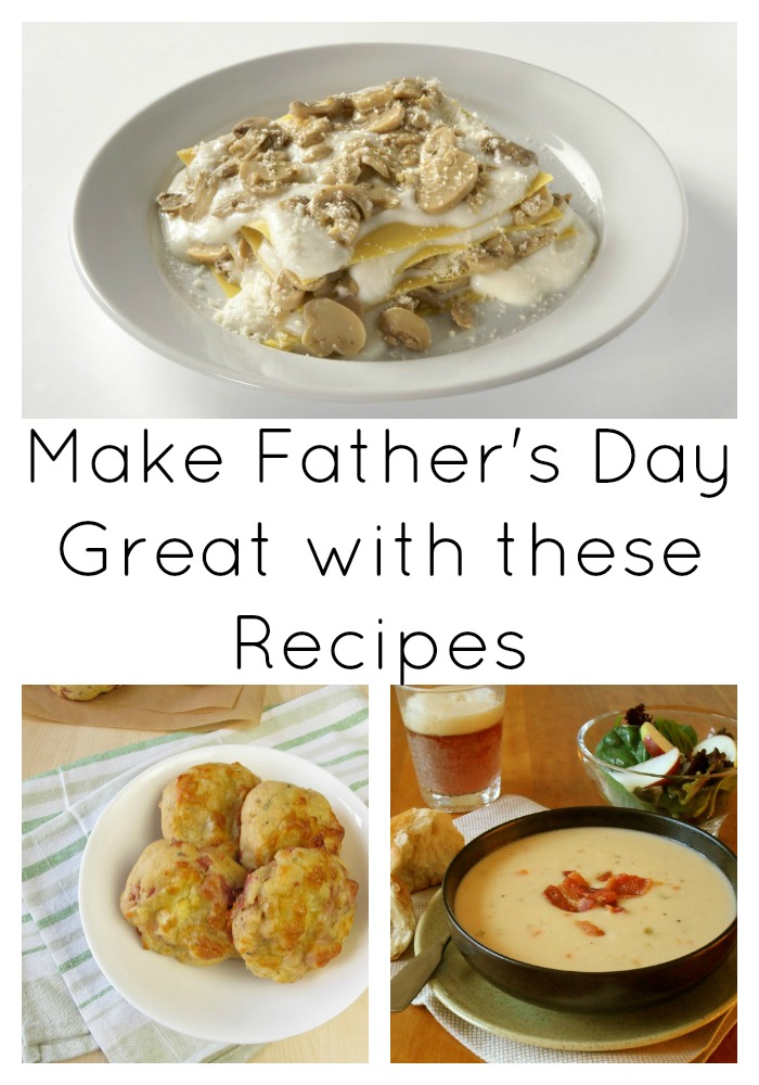 Make Fathers Day Great with these Recipes