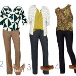 Loft Mix and Match Wardrobe for Summer into Fall