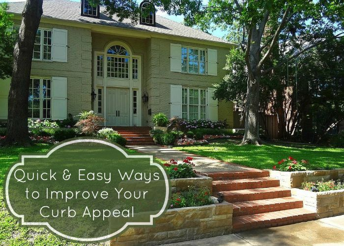 Quick and Easy ways to Improve your Curb Appeal