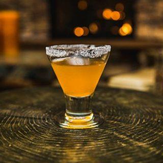 Ember Bayou Sidecar Cocktail drink recipe