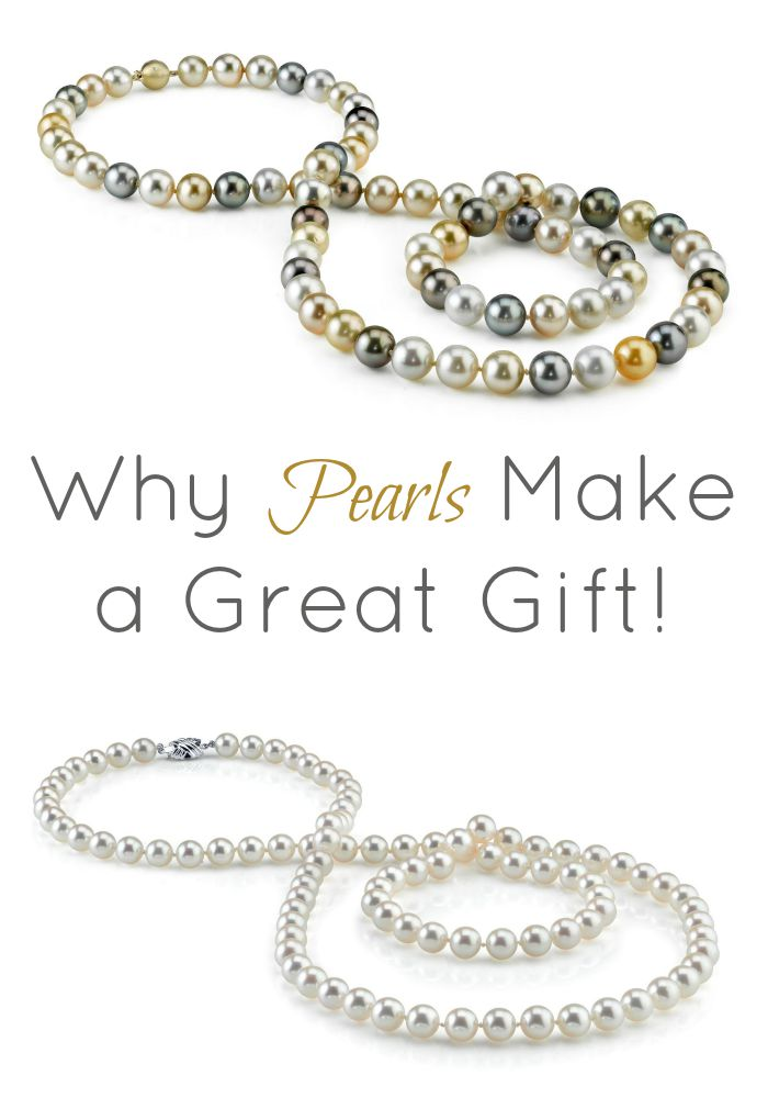 Why pearls make a great gift