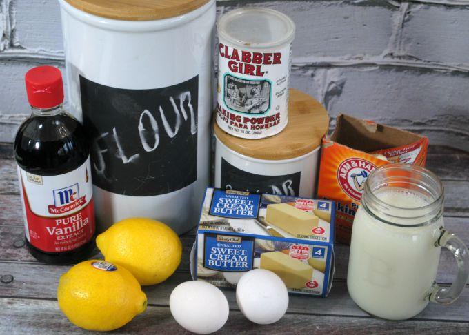 lemon curd cupcakes ingredients