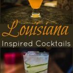 Louisiana inspired cocktail drink recipes
