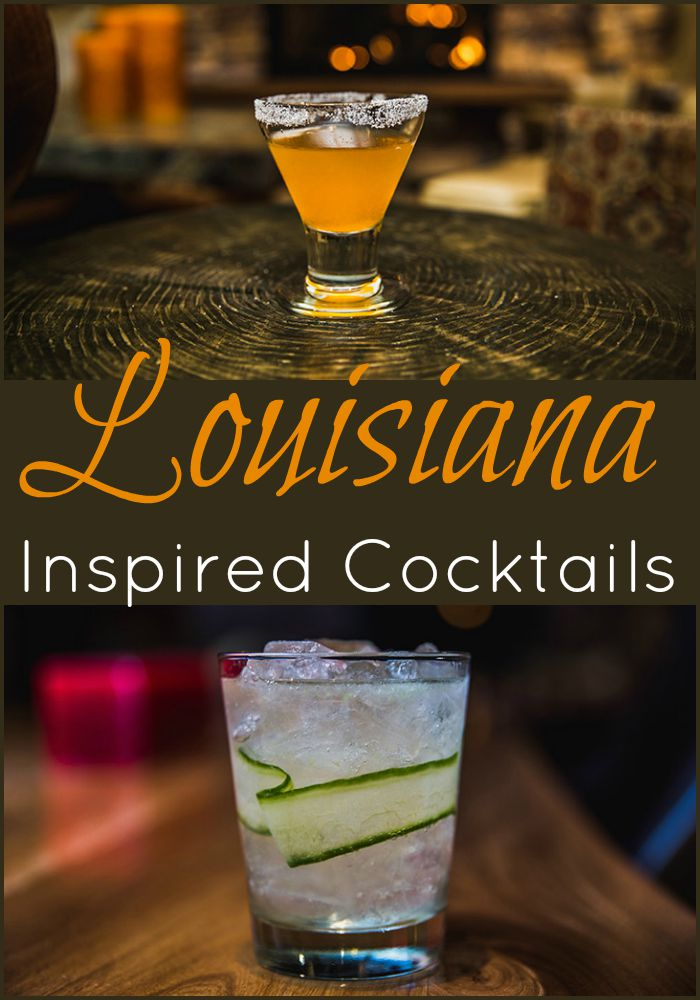 louisiana inspired cocktails