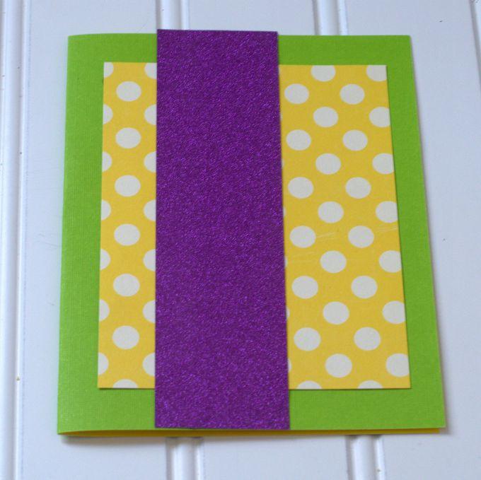 sprinkle card step 2