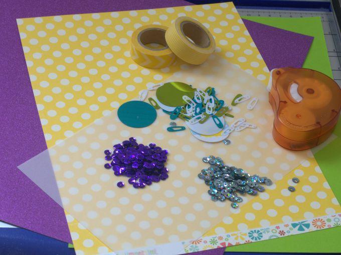 sprinkle card supplies