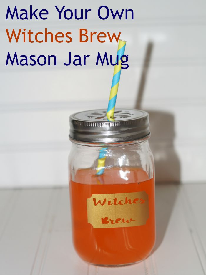 Make your own Witches Brew mug