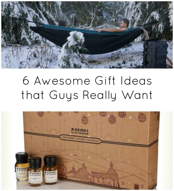 6 awesome gift ideas that guys really want
