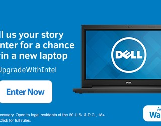 Check Out the New Intel Laptops + How You Could Win One