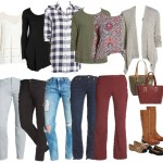 Nordstrom Mix and Match Wardrobe for Fall