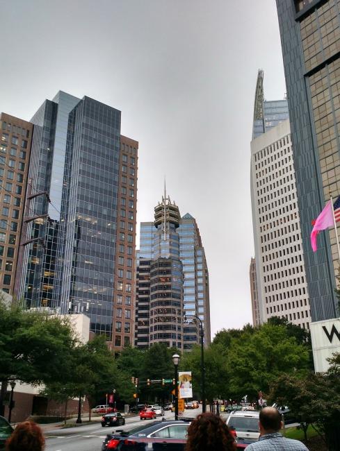 midtown atlanta skyscrapers