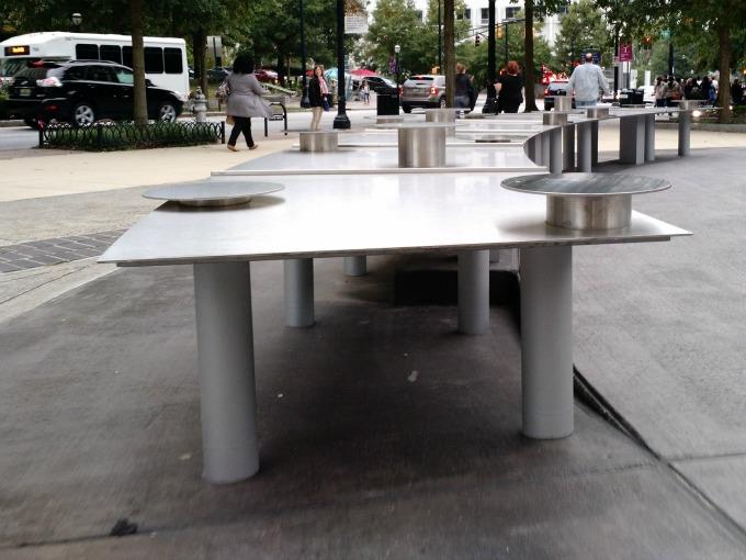 table public art