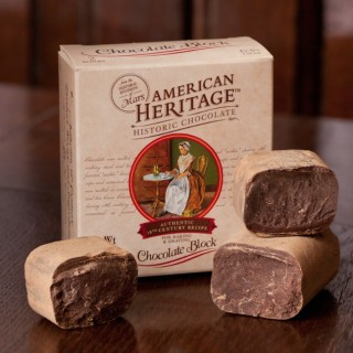 American heritage chocolate block