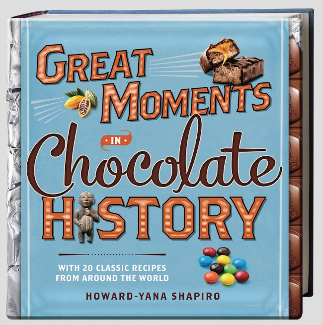 Great moments in chocolate history book