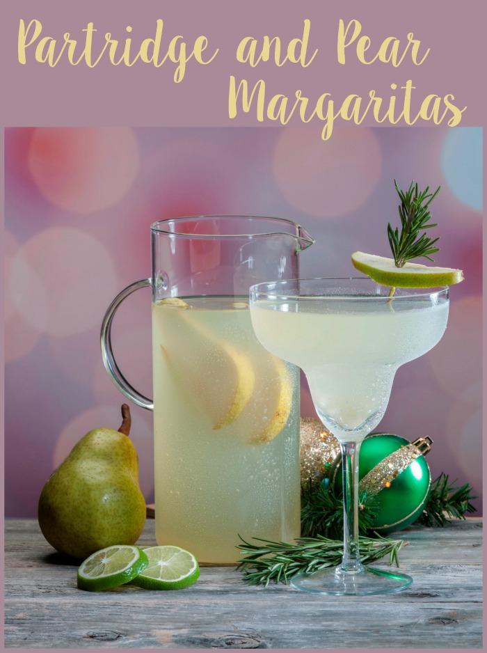 Partridge and pear margaritas