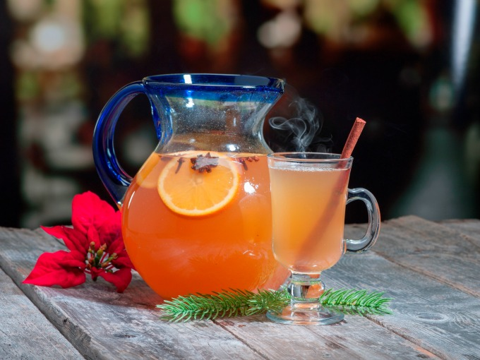 Slow Cooker Tequila Hot Toddy
